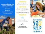Thumbnail image of Who Did You Help Today brochure