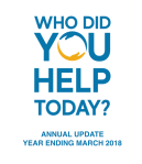 Thumbnail image of Who Did You help Today Annual Update Year ending March 2018